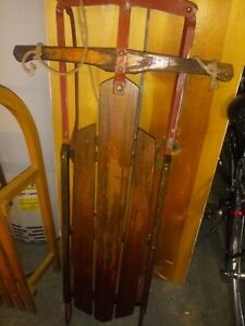 Flexible flyer sled vintage