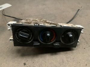 Nissan Patrol GU Y61 Heater Controls