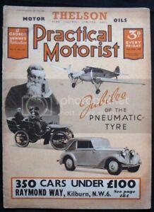 PRACTICAL MOTORIST Car Magazine 23 Jul 1938 Talbot Tens Brooklands Race
