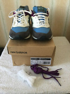 New Balance 577 Leather & Suede Mens Trainers Size 9