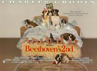 Beethoven's 2nd  movie poster - 12 x 1 6 inches - Saint Bernard, Dog Poster
