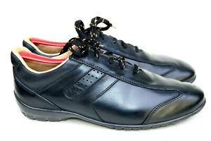 Allen Edmonds Peyton Black Leather Casual Driving Shoe Men's SZ 7.5D