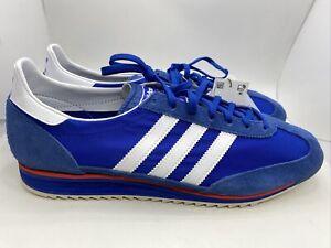 Adidas SL 72 Blue Valencia Hamburg Bern Jean FY7689 Retro Gazelle Sz 11
