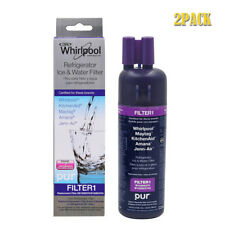 2Pack Whirlpool W10295370A W10295370 Kenmore46-9930 Refrigerator Water Filter 1#