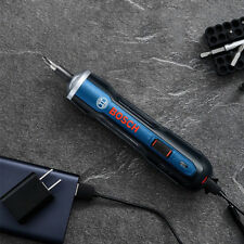 Bosch 3.6V Mini Handhold Adjustable Electric Screwdriver Tool Micro USB Charging