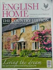 The English Home Oct 2017 The Country Edition Blissful Gardens FREE SHIPPING sb