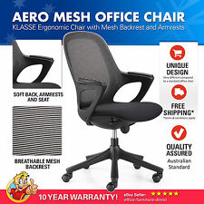 Aero Klasse Mesh Office Chair with Armrests, Enduro Foam, Boardroom, Ergonomic