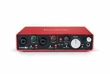 Scarlett 2i4 Gen 2 USB Audio Interface with Pro Tools, Ableton Live REFURBISHED
