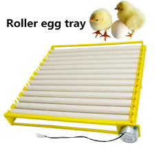 42/56 Egg Hatcher Machine Portable Automatic Incubators 360 Rotary Turner