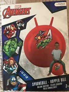Marvel Avengers  SPRUNGBALL / HOPPER BALL OUTDOOR  AGE 3+ 45-50cm NEW