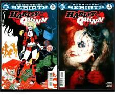 1)HARLEY QUINN #1(10/16)REG.+SIENKIEWICZ VARIANT(BATMAN/JOKER)CGC IT(9.8)REBIRTH