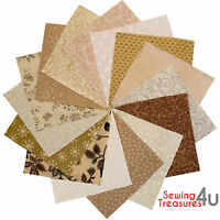 30x PATCHWORK SQUARES CHARM PACK Bundles Packs - 100% COTTON Quilting Fabric