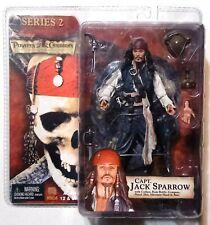 "Pirates of Caribbean: Capt. Jack Sparrow 7"" Action Figure NECA Series 2 TCOTBP"