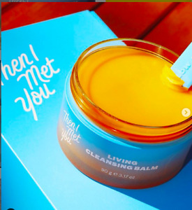 New Then I Met You Living Cleansing Balm  Crueltyfree Top #1 Makeup Remover