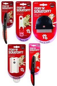 Mikki Dog Puppy Cat Flea Tick Comb Picker Deluxe Tools