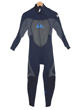 Quiksilver Mens Full Wetsuit Size LS (Large Short) Syncro 3/2