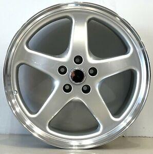 Soft Spoke 20inch Walkinshaw style wheels in 20x8.5 45p set of x4 IN SILVER