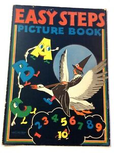 EASY STEPS PICTURE BOOK        SAMUEL LOWE COMPANY, 1945