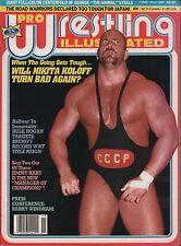 Pro Wrestling Illustrated November 1987 Nikita Koloff,George Steele VG 020316DBE