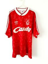 Liverpool Home Shirt 1989. Medium. Original Adidas. Red Adults Football Top M.