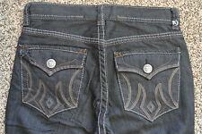 Designer ST PETERSBURG MEK Handcrafted Sample Jeans 33X34 NWOT$220 SLIM STRAIGHT