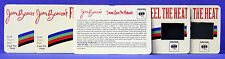 Plasmatics Jean Beauvoir 1986 Feel The Heat Lot of 5 Original Promo Mood Cards