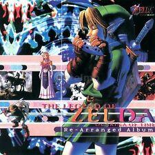 New 0064 THE LEGEND OF ZELDA Ocarina Time RE-ARRANGED Music CD SOUNDTRACK