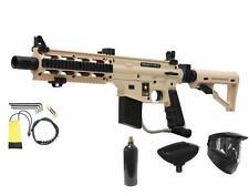 NEW Desert Tan Tippmann US ARMY PROJECT SALVO Sniper Paintball Gun Alpha Package