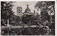 Postkarte - Mannheim / Friedrichspark