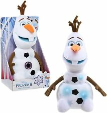 "DISNEY FROZEN II -  SING & SWING OLAF 12"" PLUSH NEW SINGS, MOVES, LIGHT'S UP"