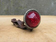 PHARE ARRIERE VERRE VELO VINTAGE ANCIEN GLASS BICYCLE TAIL LIGHT
