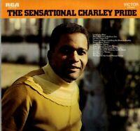 Charley Pride LP RCA Victor 1969, LSP-4153, The Sensational Charley Pride ~ VG+