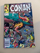 Conan The Barbarian 212 . Marvel 1988 . FN +