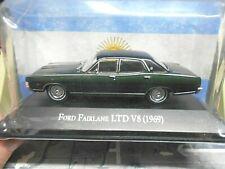 FORD Fairlane LTD V8 Limousine 1969 grün met Argentina Atlas IXO Altaya SP! 1:43