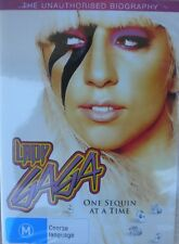 LADY GAGA ONE SEQUIN AT A TIME,DVD,BRAND NEW ,SEALED,REGION 4
