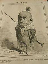 Typo 1873 - M. Crémieux député d'Alger décide de sacrifier saa chevelure