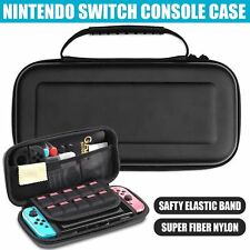Black Hard Case Carry Storage Bag Protective Cover for Nintendo Switch Console