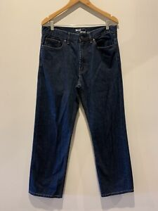 Jeanswest size 34, Blue Mens jeans, 'Classic straight' Cut. Like new,