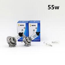 H7 55w bombillas halógenas 499 cabeza luz clara 12v + T10 W5W 501 SIDELIGHTS-legal un