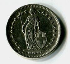 2 Franken Schweiz 1946 B Stehende Helvetia Silber M_248