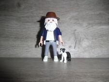 Playmobil Opa mit Hund