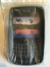 BlackBerry 9700 Bold, 9780 Bold Fitted TPU Flexible Gel Skin Case in Black B/New