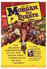 MORGAN THE PIRATE Movie POSTER 27x40 Steve Reeves Valerie Lagrange