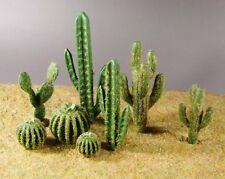 diorama model desert plants set of 8 plants