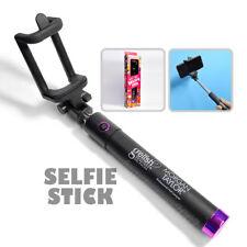Extendable Selfie Stick Bluetooh Phone Holder Remote Shutter iPhone Samsung
