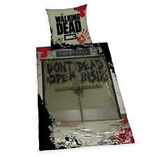 Bed Cover Herding Smooth The Walking Dead Rick Daryl T-Dog 135 x 200 NEW WOW