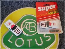 Matchbox 5 Lotus Europa White Super GT BR 9/10 Mint Boxed + 1 Loose