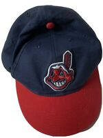 Cleveland Indians MLB Ballcap Hat Chief Wahoo Embroidered Adjustable Youth OSFM