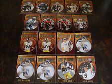 2002-2010 Topps Football---Ring Of Honor---Lot Of 17---See List---NrMt