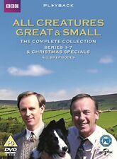 All Creatures Great and Small Series 1 to 7 Complete Collection UK DVD